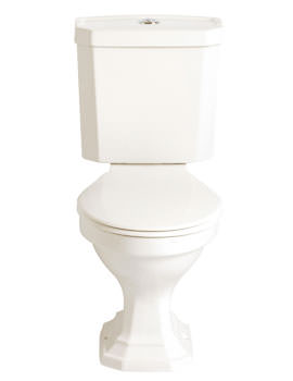 Heritage Granley Deco Close Coupled WC And Portrait Cistern