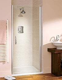 Lakes Italia Elegance Affini Semi-Frameless Pivot Door 750mm