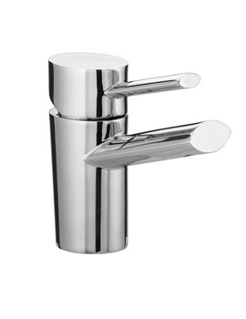 Bristan Oval Basin Mixer Tap With Eco Click Without Waste