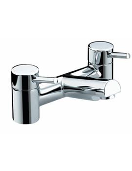 Bristan Prism Chrome Plated Pillar Bath Filler Tap