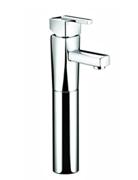 Bristan Qube Chrome Plated Tall Basin Mixer Tap