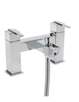 Tre Mercati Vespa Pillar Bath Shower Mixer Tap With Shower Kit