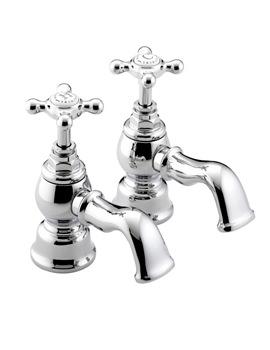 Bristan Trinity Chrome Bath Taps