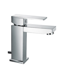Sagittarius Blade Monobloc Basin Mixer Tap With Pop-Up Waste