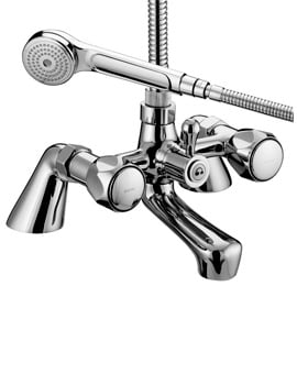 Bristan Value Club Chrome Pillar Bath Shower Mixer Tap