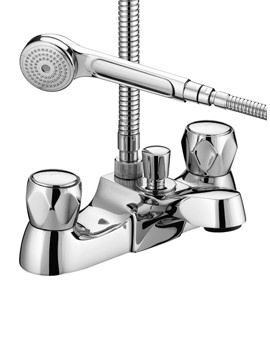 Bristan Value Club Chrome Luxury Bath Shower Mixer Tap