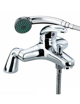Bristan Java Pillar Bath Shower Mixer Tap With Shower Kit