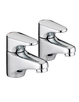 Bristan Jute Pair Of Bath Taps