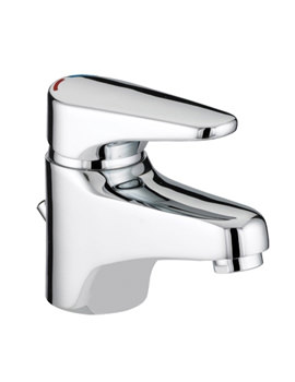 Bristan Jute Basin Mixer Tap With Eco Click And Pop-Up Waste