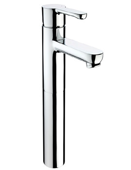 Bristan Nero Tall Basin Mixer Tap Without Waste