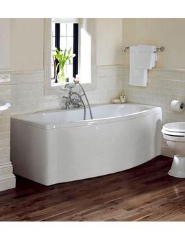 Imperial Drift Acrylic Bath 1700 x 800mm White