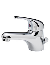 Tre Mercati Modena Chrome Mono Basin Mixer With Side Pop Up Waste