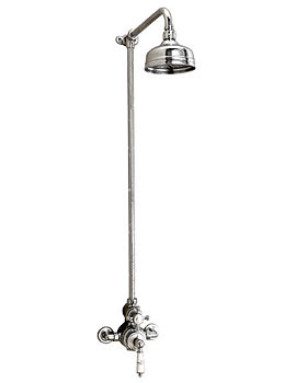 Imperial Victorian Exposed Thermostatic Valve With Shower Head