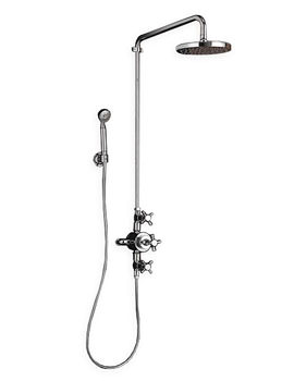 Imperial Cisne Luxury Exposed Shower Kit With Handset And Head