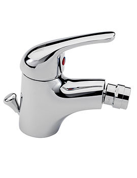 Tre Mercati Modena Bidet Mixer Tap With Pop-up Waste