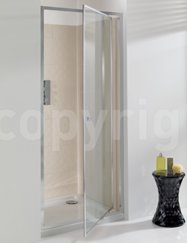 Simpsons Edge 1000mm Pivot Shower Door