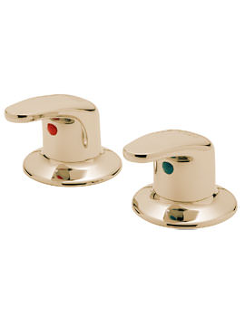Tre Mercati Modena Antique Gold Pair Of 3/4 Inch Side Valves