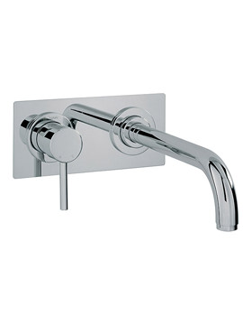Tre Mercati Milan 2 Hole Wall Mounted Bath Filler Tap