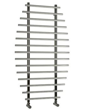Reina Enna Polished Stainless Steel Designer Radiator 700 x 1200mm