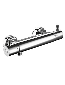 Imperial Isis Thermostatic Barrel Shower Valve Chrome Plated