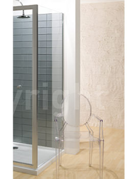 Simpsons Edge 800mm Side Panel For Shower Enclosure