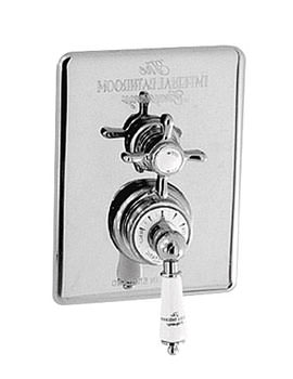 Imperial Victorian Concealed Thermostatic Dual Control Shower Valve