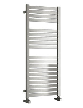 Reina Aosta Satin Stainless Steel Designer Radiator 530 x 1220mm
