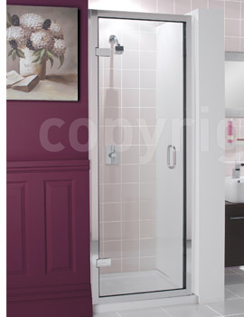 Simpsons Classic Frameless 700mm Hinged Shower Door