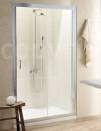 Simpsons Classic Single Slider Shower Door 1000mm