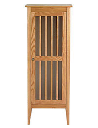 Imperial Linea Tall Unit With Wood Or Frosted Glass Doors 535mm