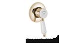 Antique Gold Concealed Shower Valve