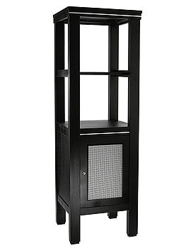 Imperial Cuda Metal Weave Tall Unit 500 x 1600mm Wenge