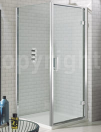 Simpsons Elite 800 x 1950mm Hinged Shower Door