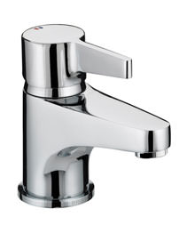 Bristan Design Utility Lever Basin Mixer Tap With Clicker Waste