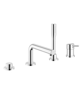 Grohe Concetto Single Lever 4 Hole Bath Combination