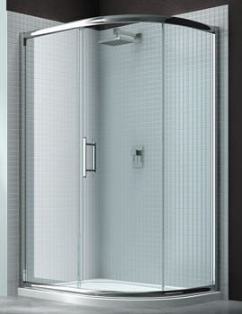 Merlyn 6 Series 1 Door Offset Shower Quadrant 900 x 760mm