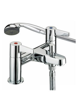 Bristan Design Utility Lever Bath Shower Mixer Tap