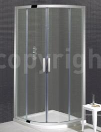 Simpsons Elite Double Door Quadrant Shower Enclosure 1000 x 1000mm