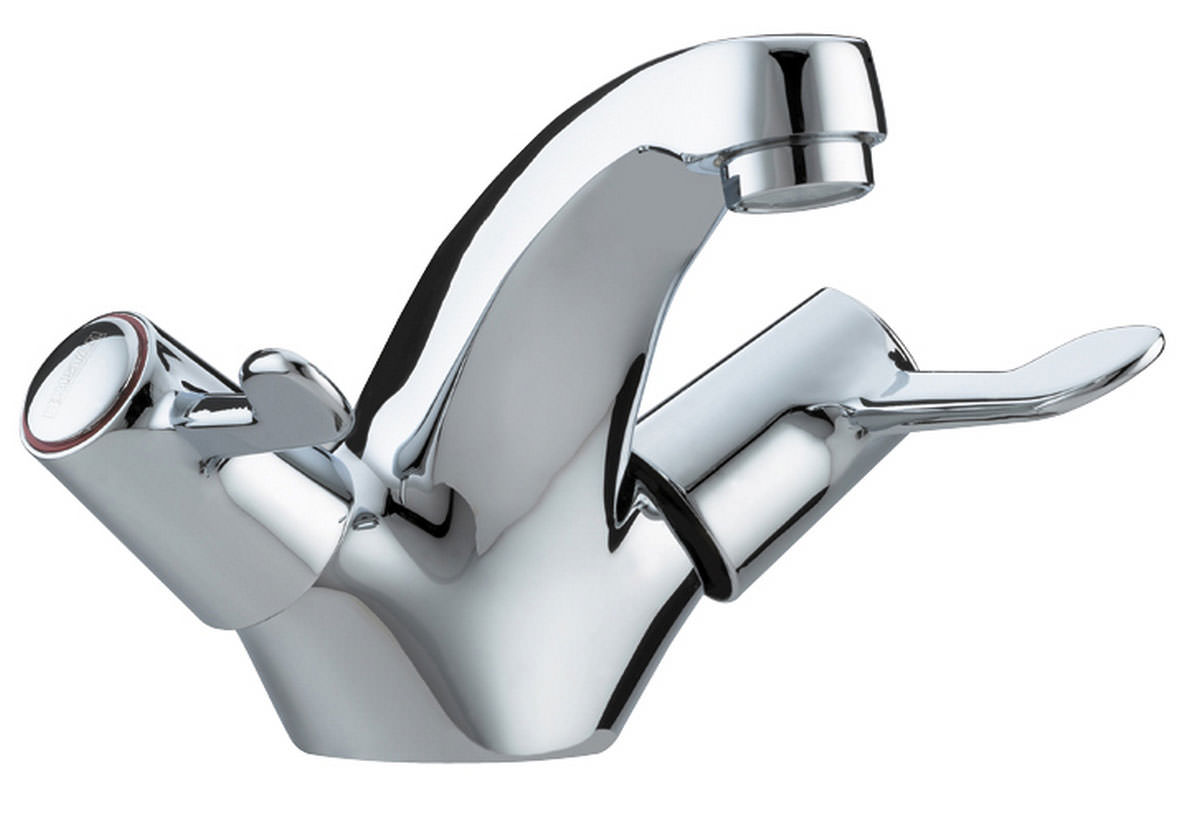 Bristan Value Lever Basin Mixer Tap With Pop-Up Waste