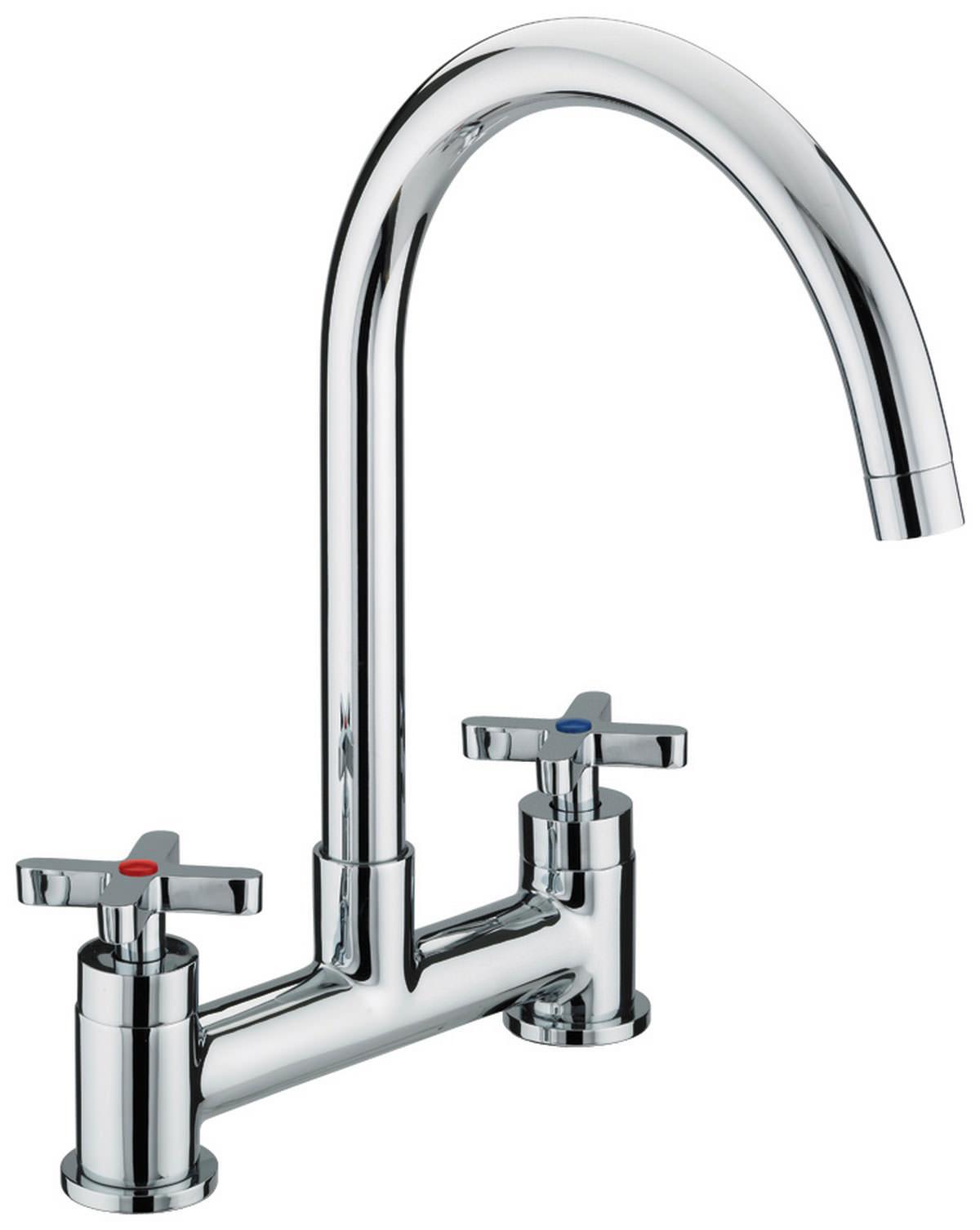 Bristan Design Utility X Head Deck Mounted Kitchen Sink