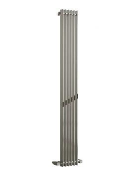 Reina Veneso Chrome 240 x 1800mm Designer Vertical Radiator