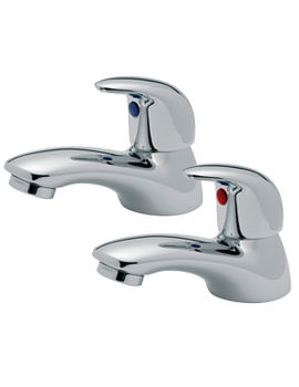 Tre Mercati Novara Pair Of Bath Taps
