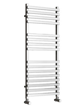 Reina Carina Chrome 500 x 800mm Designer Vertical Radiator