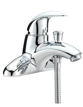 Tre Mercati Novara Deck Mounted Bath Shower Mixer Tap With Shower Kit