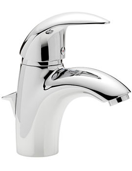 Tre Mercati Novara Chrome Mono Basin Mixer Tap With Pop Up Waste