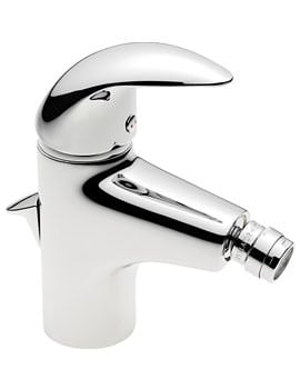 Tre Mercati Novara Chrome Mono Bidet Mixer Tap With Pop Up Waste