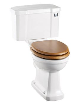 Burlington Close Coupled WC With Front Button Cistern