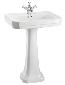 Burlington Victorian 610mm Basin And Regal Pedestal