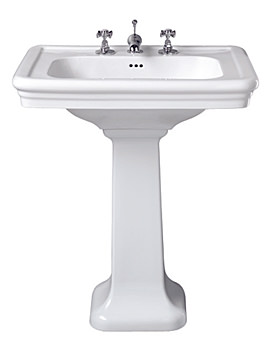 Imperial Etoile Large Basin 700mm With Pedestal