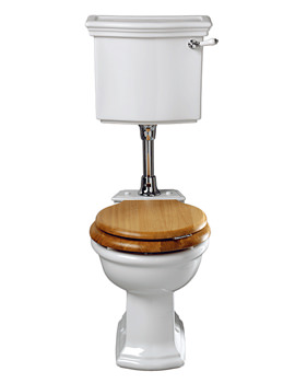 Imperial Firenze WC Pan And Low Level Cistern 695mm